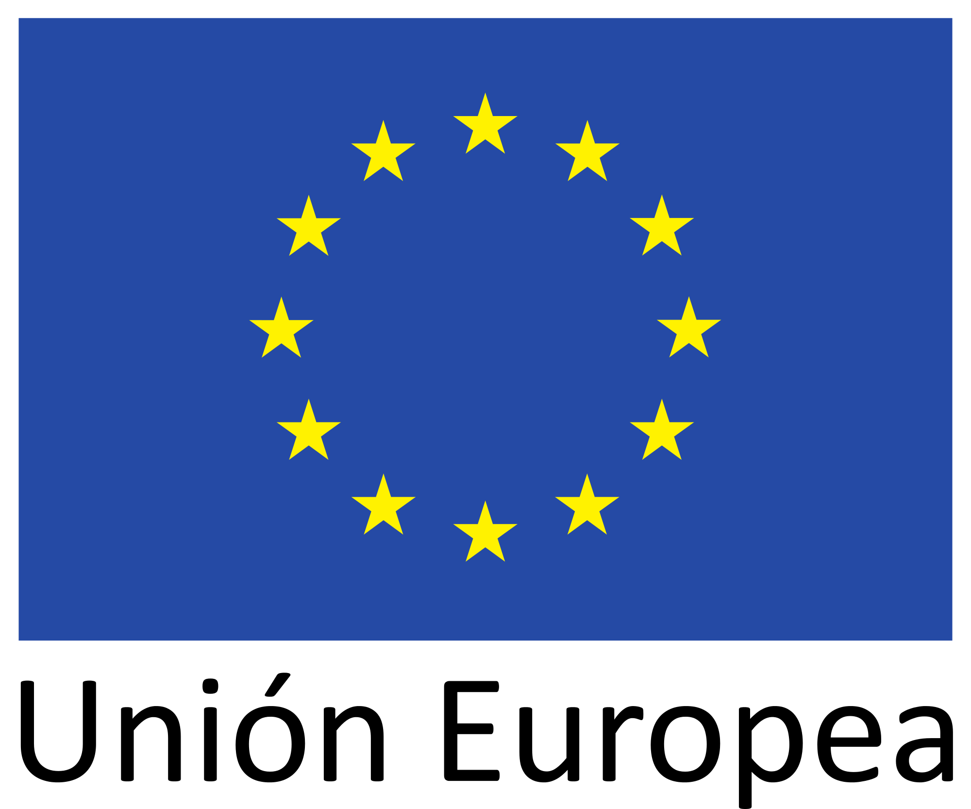 Logo Unión Europea